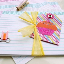 FREE Chevron Recipe Cards: Print and Cut Your Own