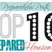 Best of Prepared Housewives: Top 10 Preparedness Posts of 2013