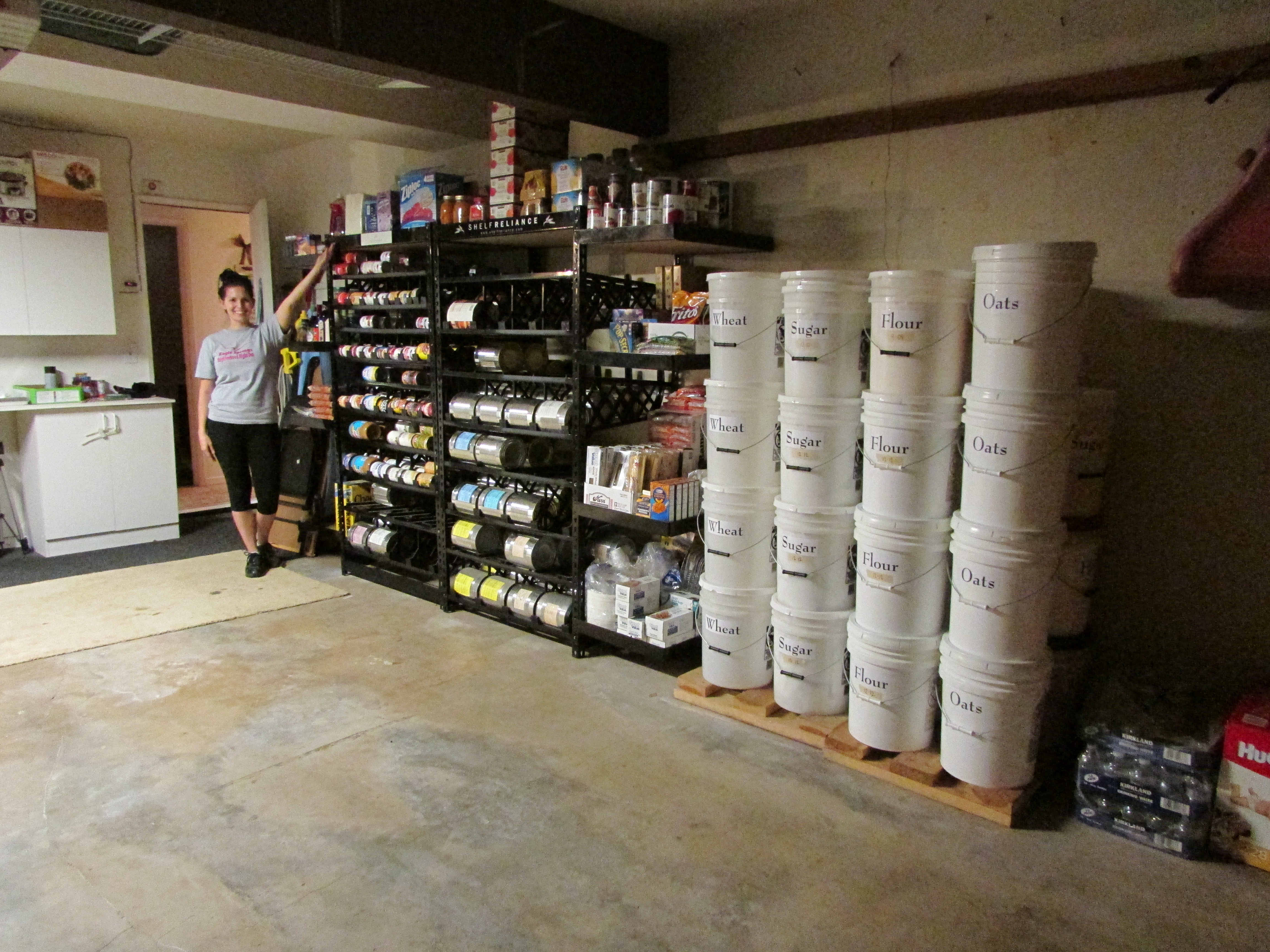 Quot Doomsday Dame Quot A Food Storage Makeover Prepared
