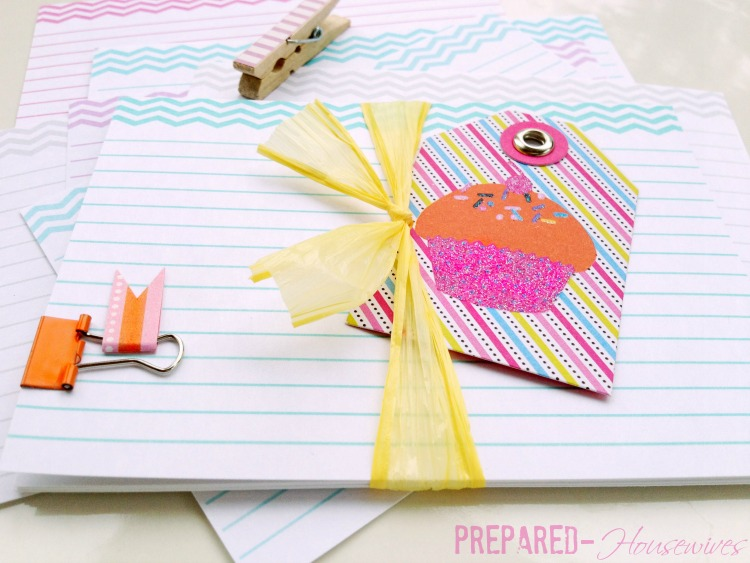 Free printable chevron recipe cards to help keep your favorite recipes organized & cute!!! Prepared-Housewives.com #recipecards #foodstorage