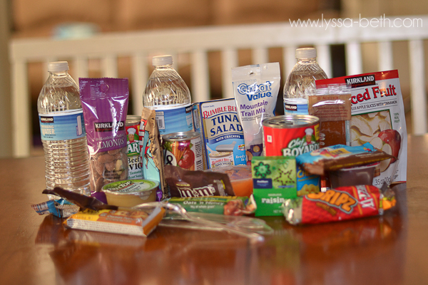 Make a 72 Hour Survival Kit for Under $11! For directions & menu ideas check