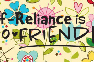 Self-Reliance is Eco Friendly