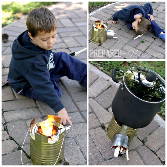 cooking with the rocket stove