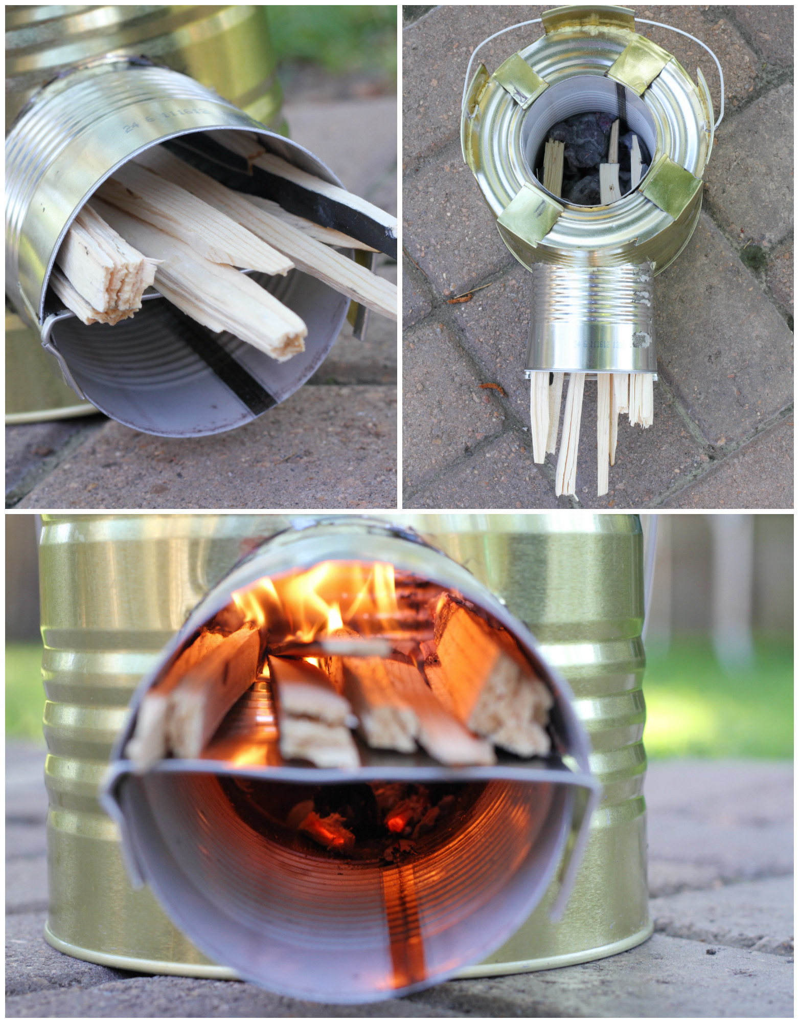 how to build a rocket stove to impress the boys survival