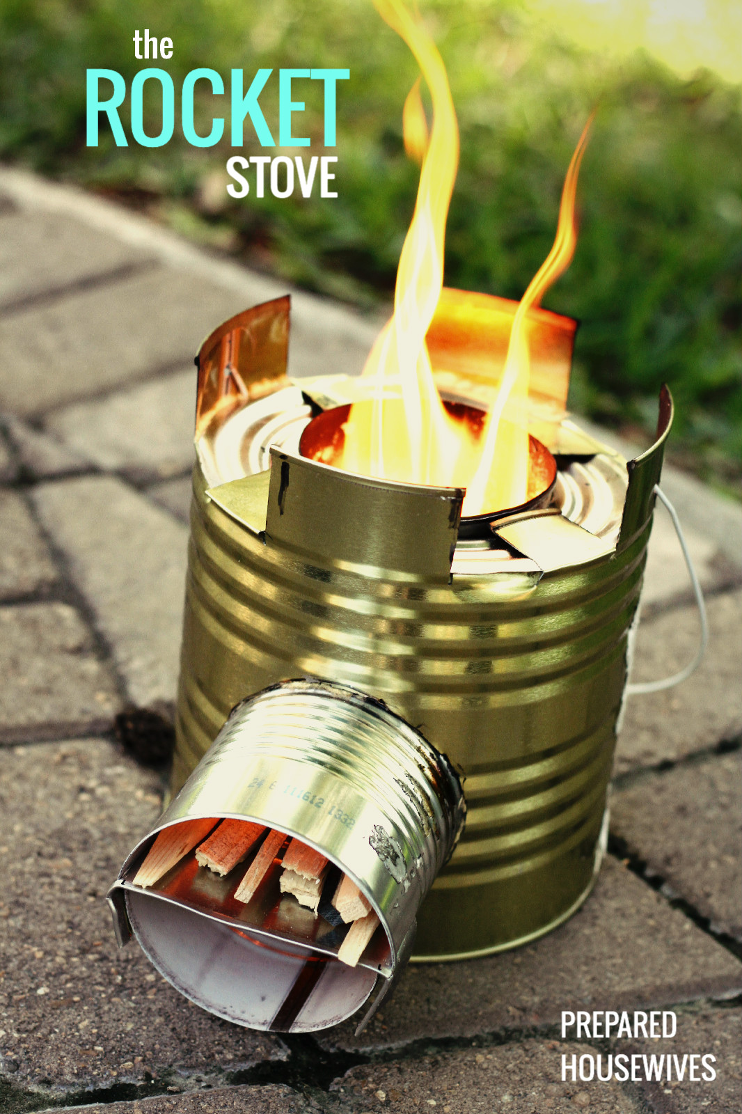how to build a rocket stove to impress the boys survival. Black Bedroom Furniture Sets. Home Design Ideas