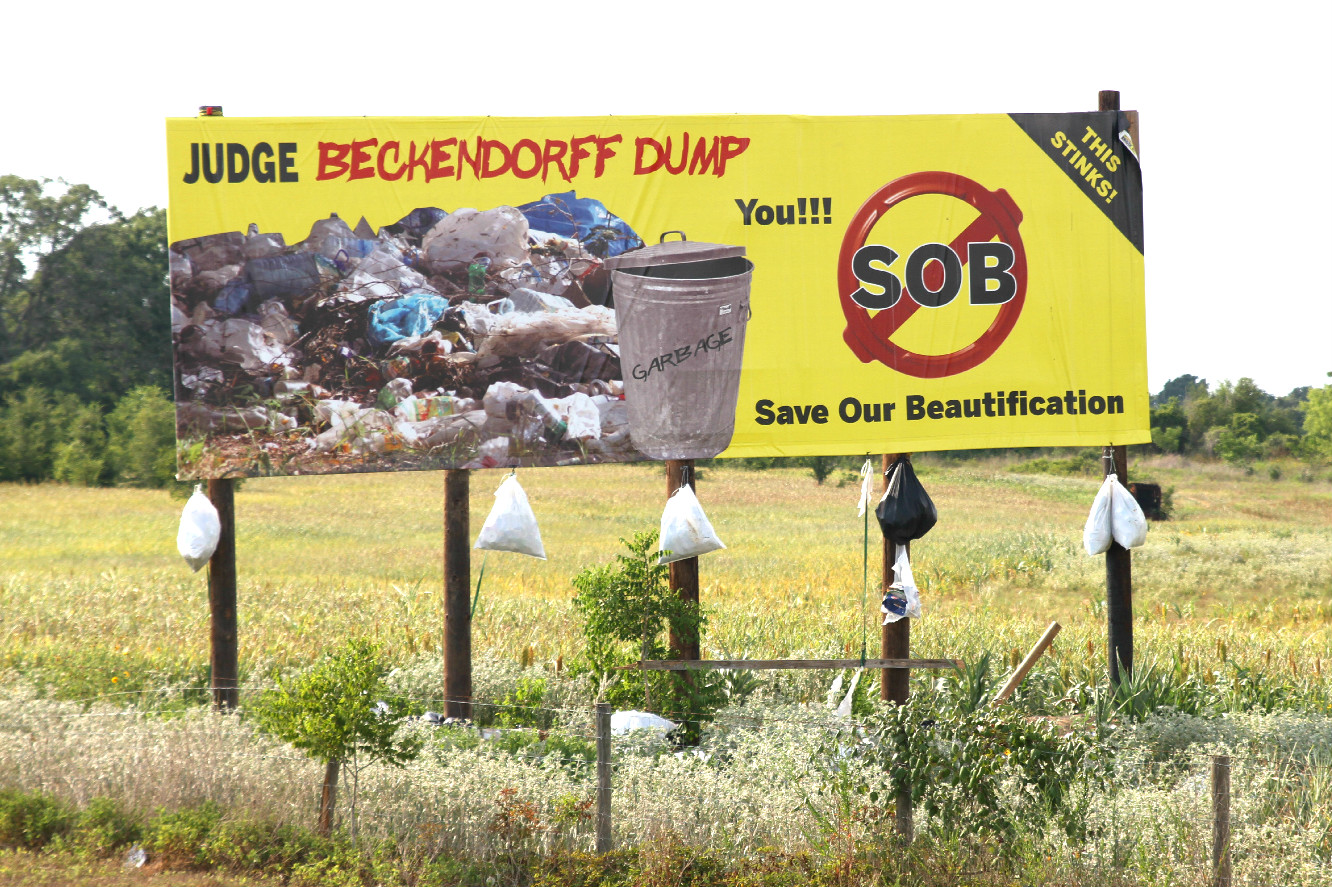 You SOB: Learn to Dispose of Trash Before a Crisis! - www.Prepared-Housewives.com #emergencypreparedness #trash #hwy6landfill