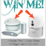 HUGE Giveaway!!! WIN a Bosch Mixer or L'Equip Nutrimill…