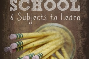 Back to PREP School: 6 Subjects Preppers Should Be Learning