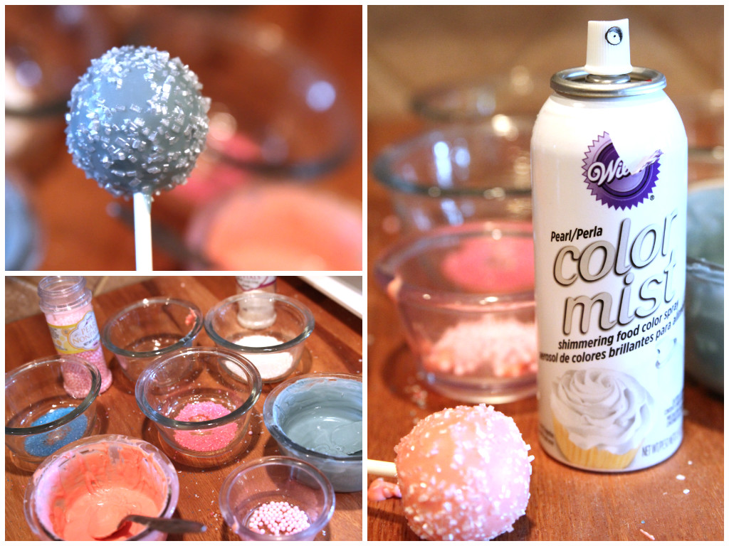 Cake Decorating Pearl Balls : How to Make Perfect Cake Pops Everytime! - Prepared Housewives