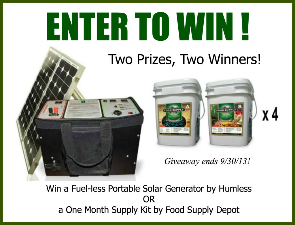 Celebrate National Preparedness Month with the Biggest Giveaway Yet!!! www.Prepared-Housewives.com #giveaway #emergencyprep
