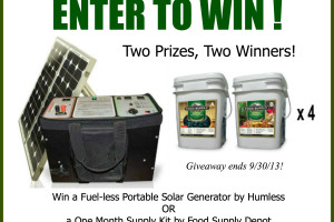 National Preparedness Month: Biggest Giveaway Yet!