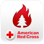 american red cross wildfire app
