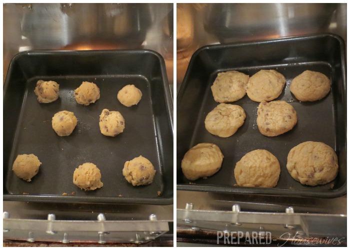 cookies cooked in HERC oven