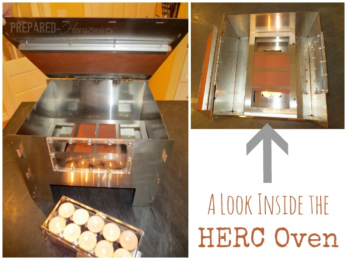 inside the emergency oven