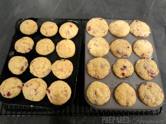 muffins cooked in HERC oven