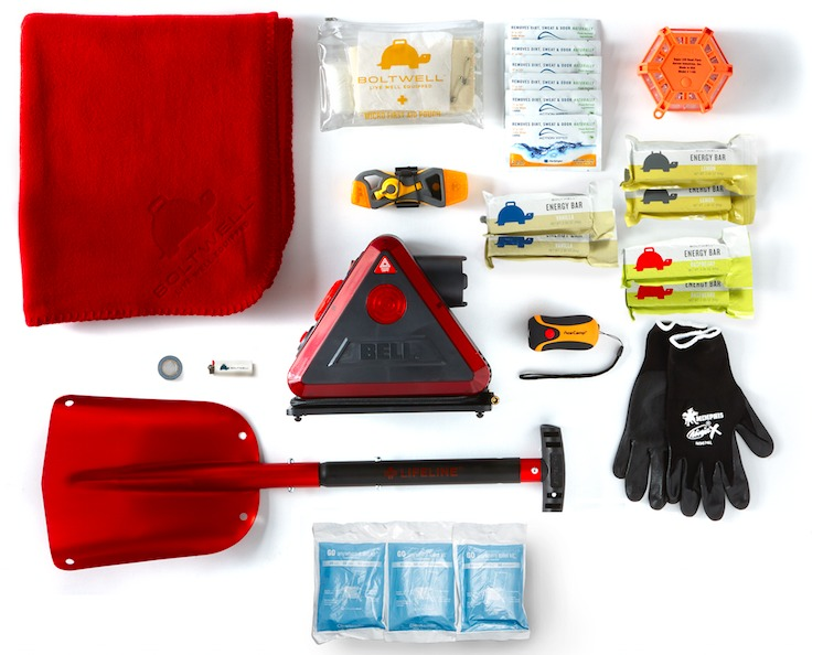 Car survival kits checklist
