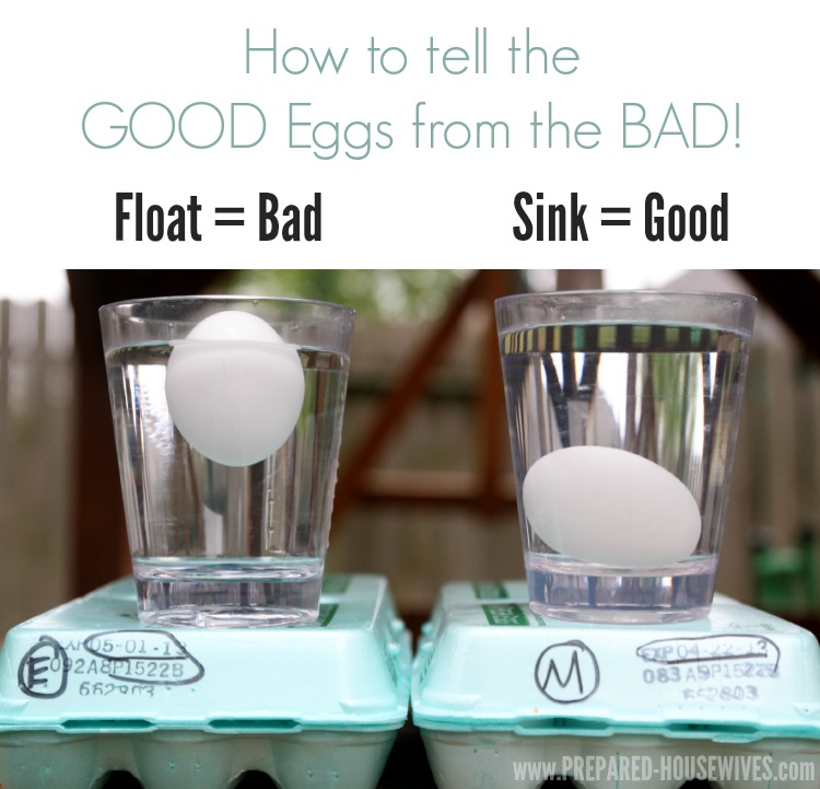difference between good eggs and bad