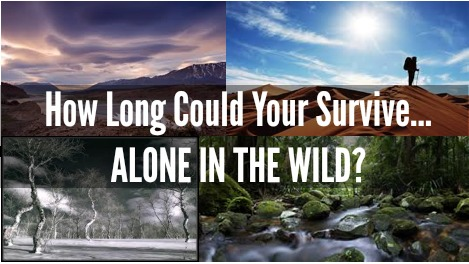 how long could you survive alone in the wild prepared housewives