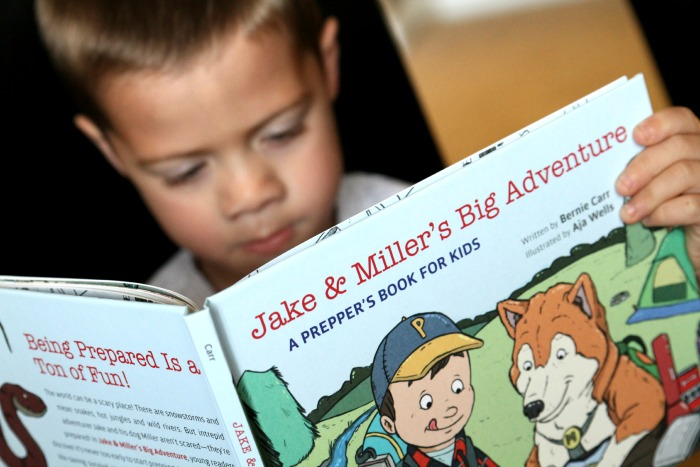 Reading Jake & Miller's Big Adventure by Bernie Carr