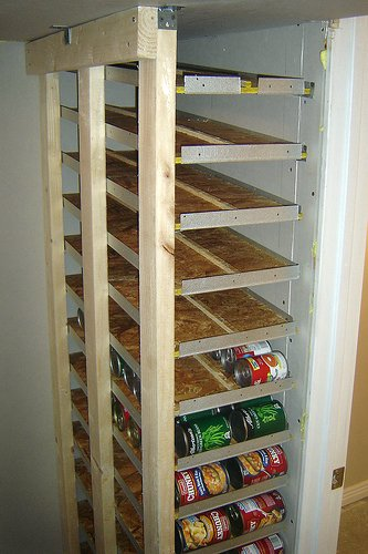 diy can organizer for small spaces