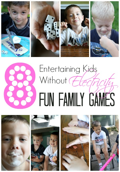 8 Family Games You Can Play Without Electricity