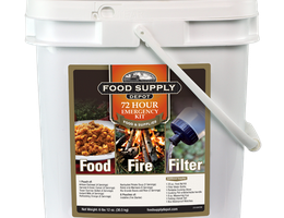 Kick off Summer with a Food, Fire, & Filter Bucket from Survival Based