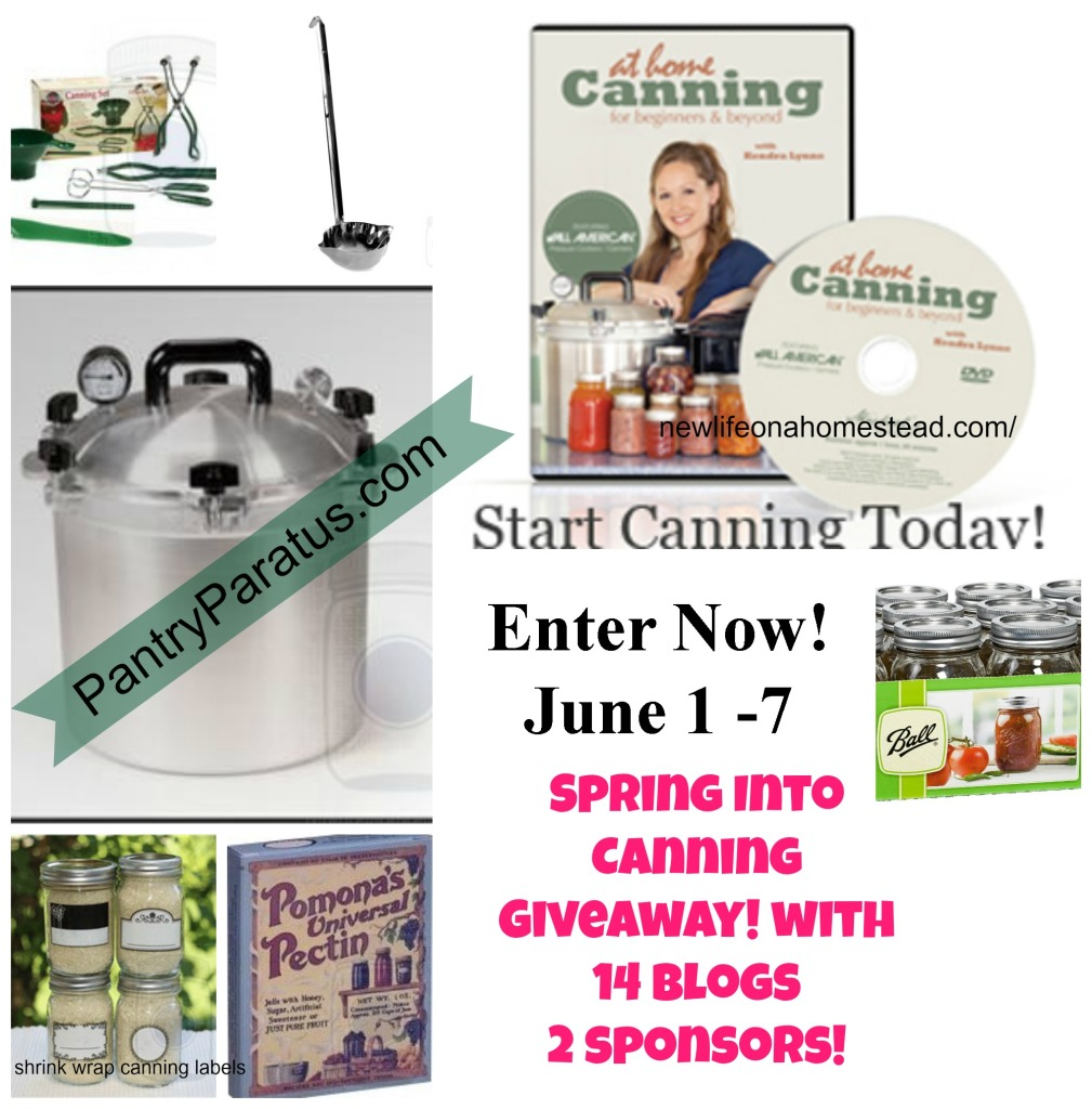Win My Favorite Canning Supplies!