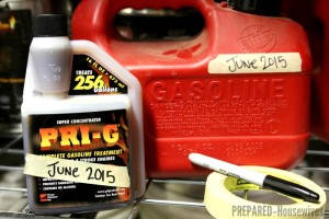 Store Gasoline Indefinitely with PRI-G Fuel Stabilizer