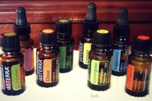 preparing for a disaster with essential oils