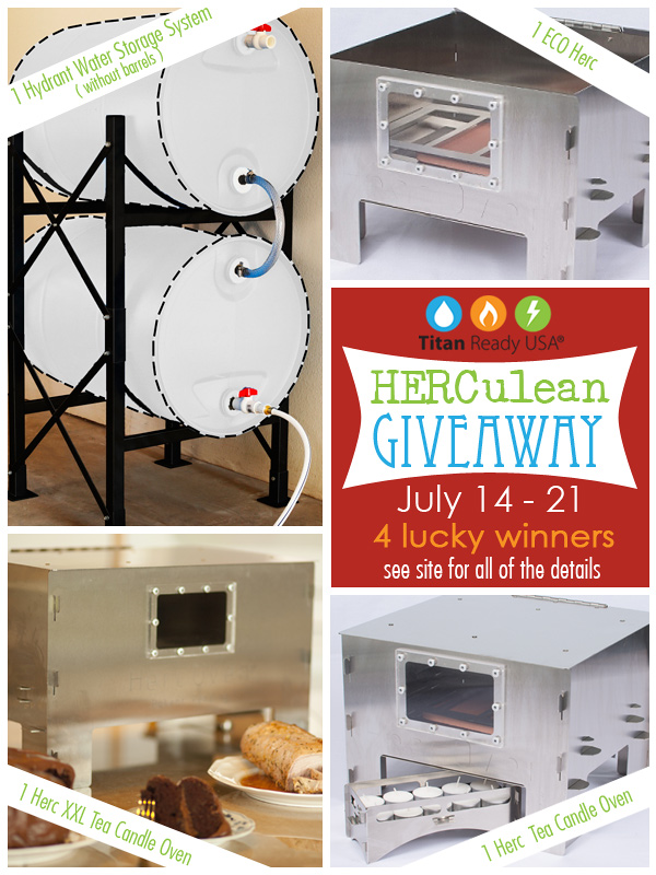 Enter the HERC Oven Givaway & have a way to cook your food in an emergency!