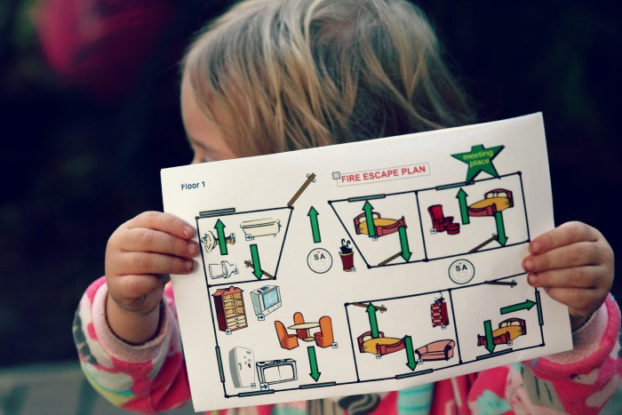 Does your family have a Fire Escape Plan! If not, time to make one...