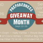 National Preparedness Giveaway