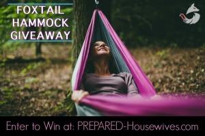 Win a FOXtail Hammock!