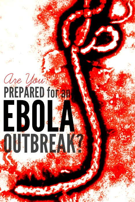 Are you prepared for an Ebola outbreak? Maybe it's time for you to make a plan and prepare your family for the possibility of Ebola coming to a town near you. | www.Prepared-Housewives.com #ebola #emergencypreparedness