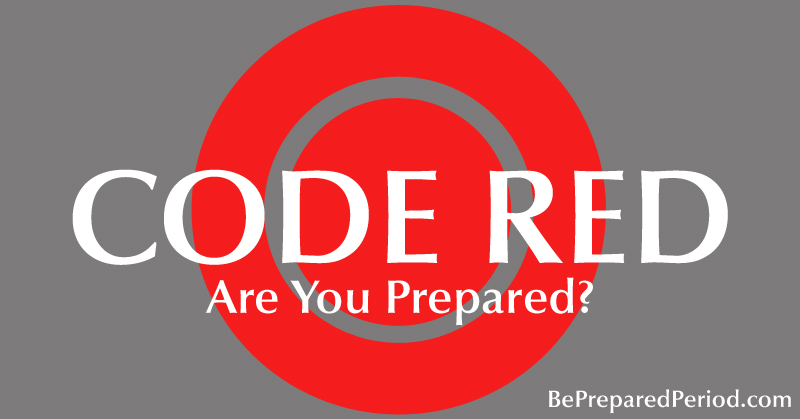 Are You Prepared For Your Period? If you're a woman, you need to read this now! PreparedHousewives.com #period #prepbloggers #emergencyprep