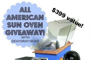 Win An All American Sun Oven!