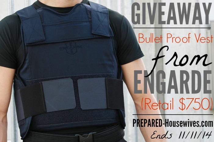 EnGarde Bullet Proof Vest Giveaway