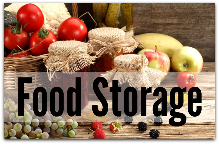 Preserving Food Storage