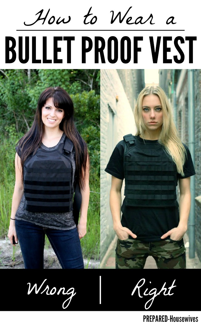 How to Wear a Bullet Proof Vest