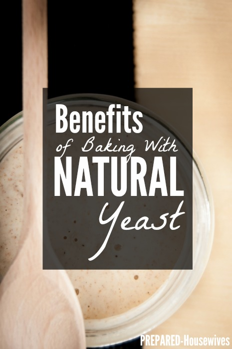 Benefits of Baking with Natural Yeast