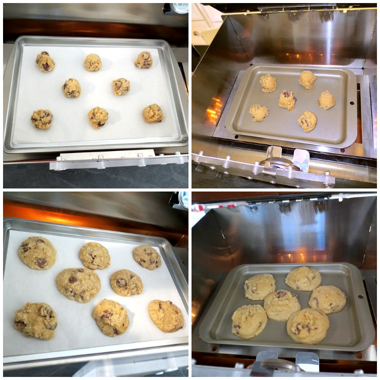 Baking Cookies with the HERC Ovens - Large & Small