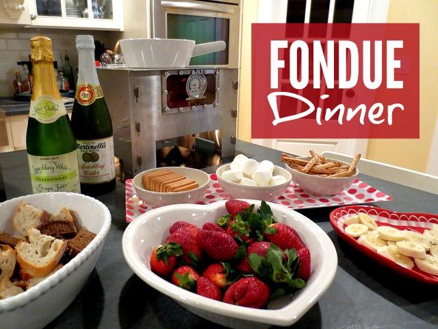 Fondue Dinner using the HERC Oven