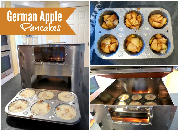 German Apple Pancakes in the HERC Oven!