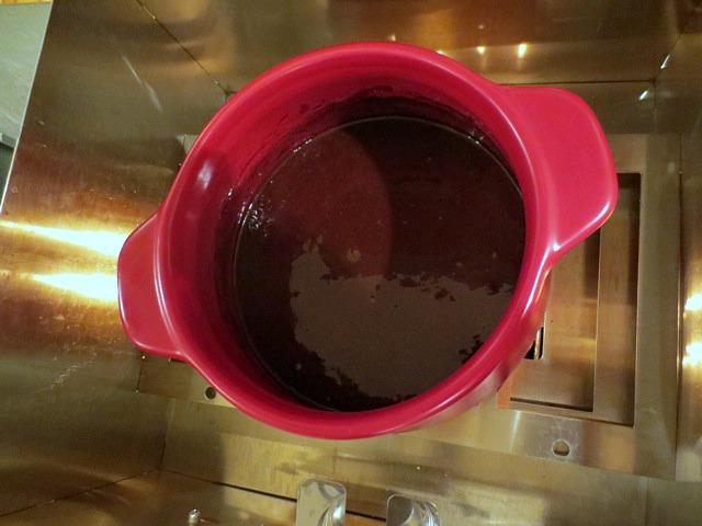 Chocolate Fondue - YUM!