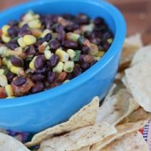Black Bean & Corn Salsa: Food Storage Style!