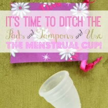 Are You STILL Using Pads & Tampons? Use the Menstrual Cup Instead!