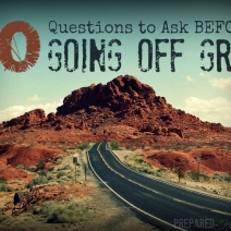 10 Questions Every Prepper Should Ask BEFORE Going off the Grid