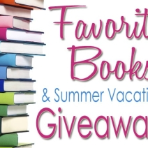 16 Favorite Books & California Vacation Giveaway!!!