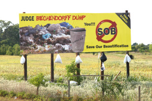 You SOB: Learn to Dispose of Trash Properly Before a Crisis