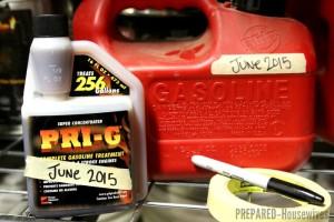 Store Gasoline Indefinitely with PRI-G Fuel Stabilizer